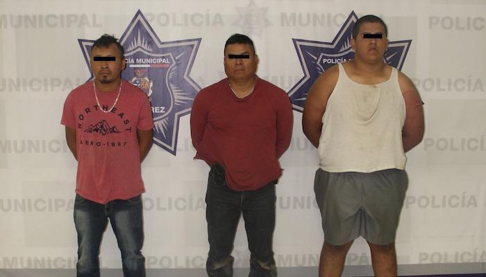 Juan Manuel M., Leonardo C. C. y Marcelino R. C.