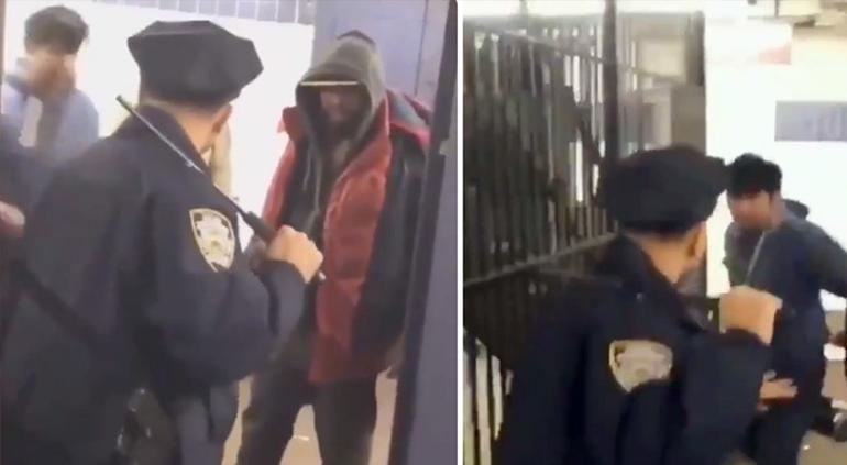 Policía enfrentó a cinco maleantes que molestaban a mujer