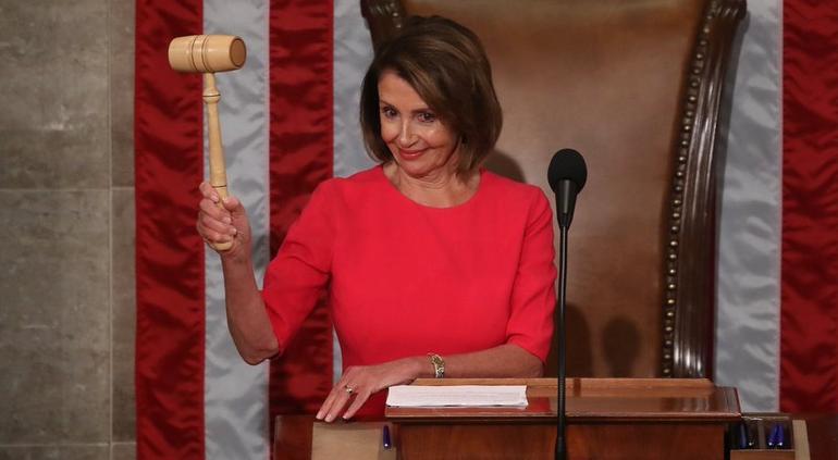 Demócratas ya lideran la Cámara de Representantes en EE. UU