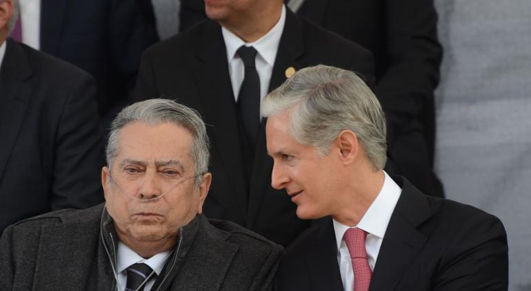 Peña Nieto lamenta muerte de Alfredo del Mazo González