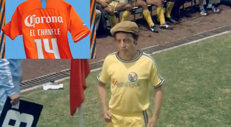 América presenta tercer uniforme en homenaje a 'El Chanfle'
