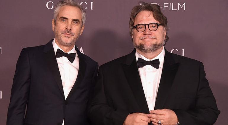 Alfonso Cuarón y Guillermo Del Toro inconformes con los Oscar