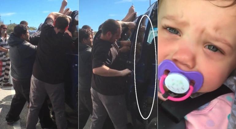 Presos de la Florida rescatan a una bebé usando sus habilidades criminales