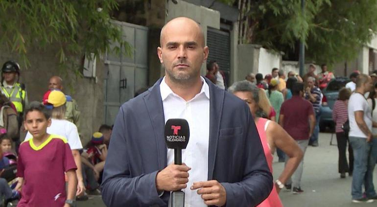 Secuestran en Venezuela a Daniel Garrido, reportero de Telemundo