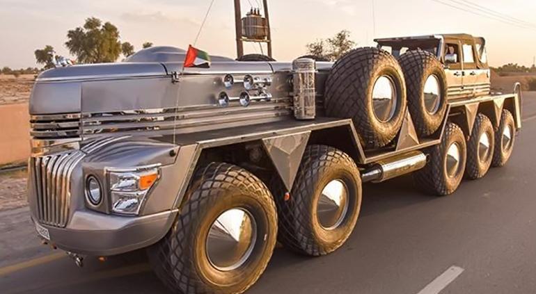Jeque de Dubái revela el SUV más grande del mundo