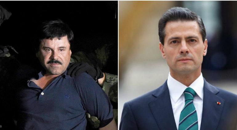 Peña Nieto es denunciado por abogados de 'El Chapo'