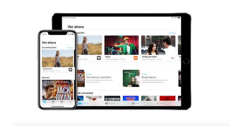 Apple lanza servicio de televisión para competir con Netflix
