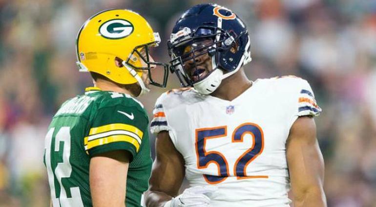 Packers y Bears abrirán la temporada 100 de la NFL