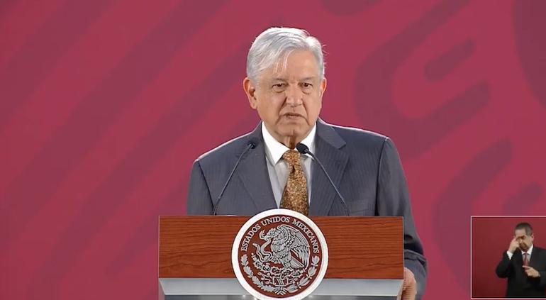 AMLO responde a Trump que México sí trabaja para frenar la migración