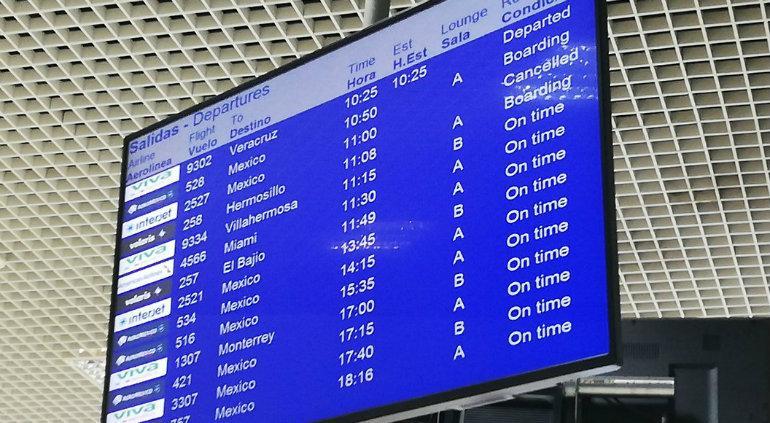Cancela Interjet 17 vuelos; dejan varados a chihuahuenses