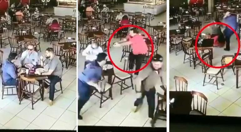 Golpea a sicario en restaurante: falló al intentar matar a un hombre