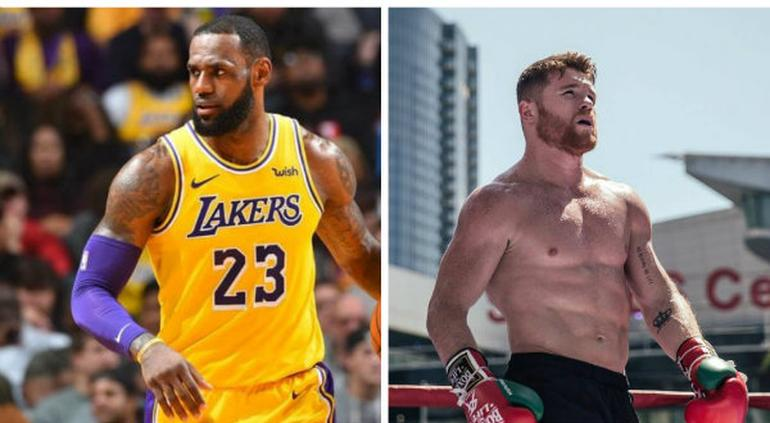 LeBron James produce documental del ''Canelo'' Álvarez