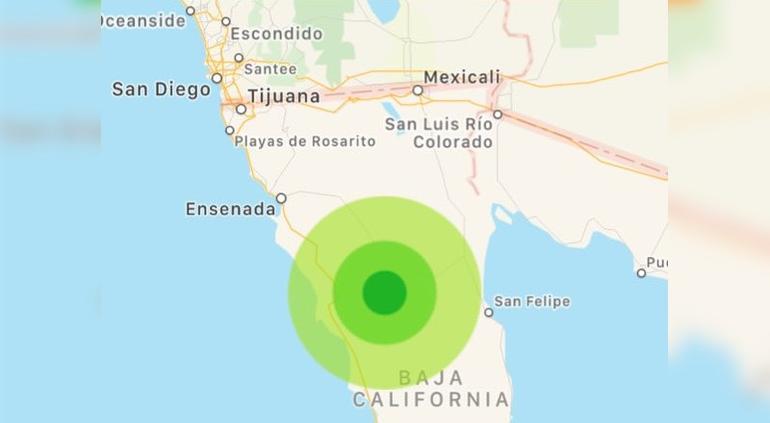 Un sismo de magnitud 5,7 se registra en México