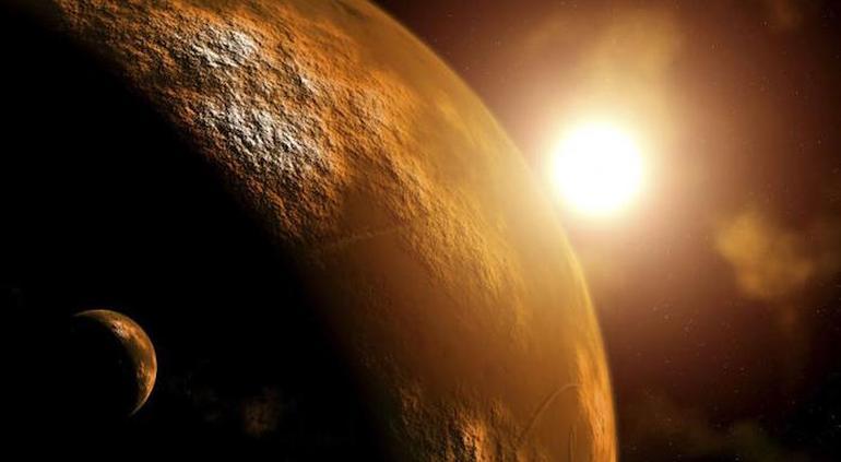 NASA muestra imágenes espectaculares de Luna llena en Marte