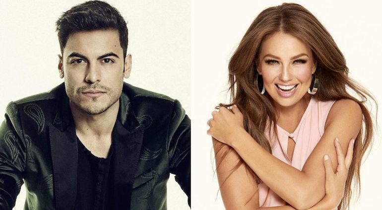 Thalía y Carlos Rivera estrenan tema