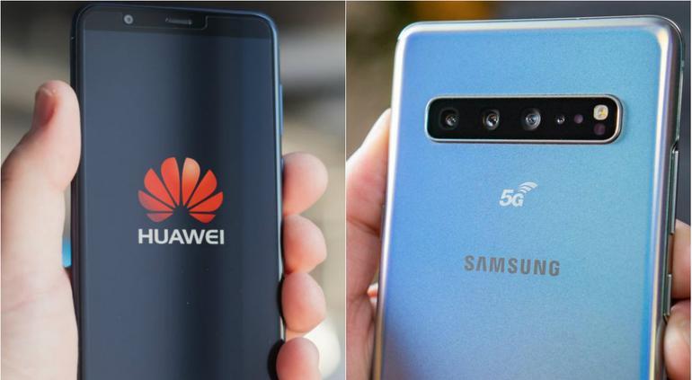 Samsung Ofrece Galaxy S10 A Cambio De Teléfonos Huawei Tiempo