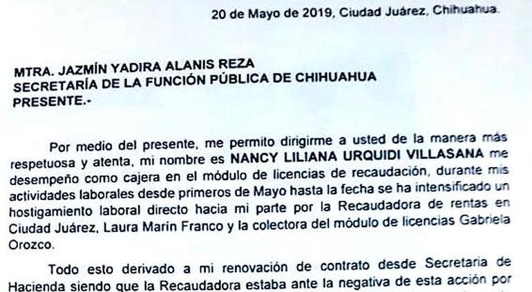 Cajera De Licencias Denuncia A Laura Marín Ante La Función