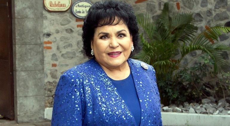 Carmen Salinas pide medicinas para pacientes con ¿'VHS'?