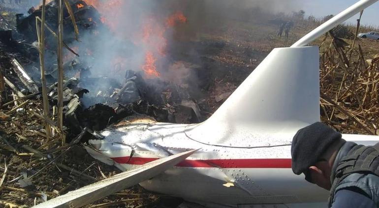 Helicóptero de Martha Alonso y Moreno Valle no tenía fallas: SCT