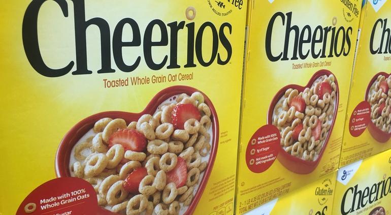 Hallan herbicida tóxico en cereal Cheerios y 20 alimentos más