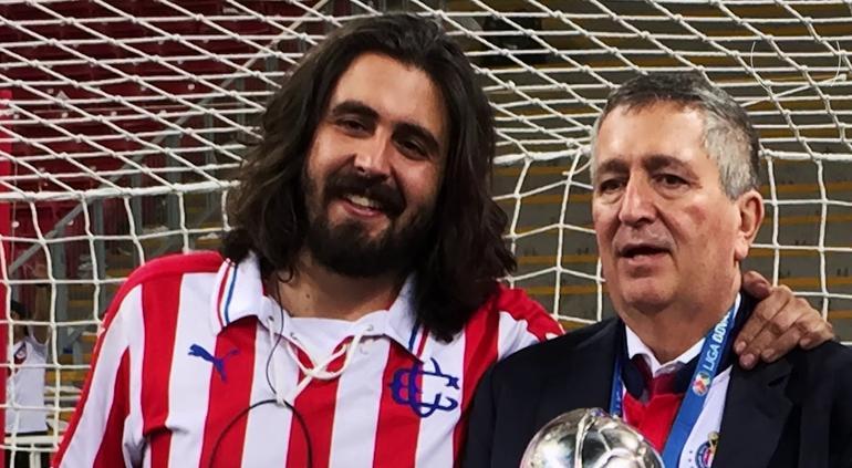 Jorge Vergara nombra a su hijo Amaury presidente de Chivas