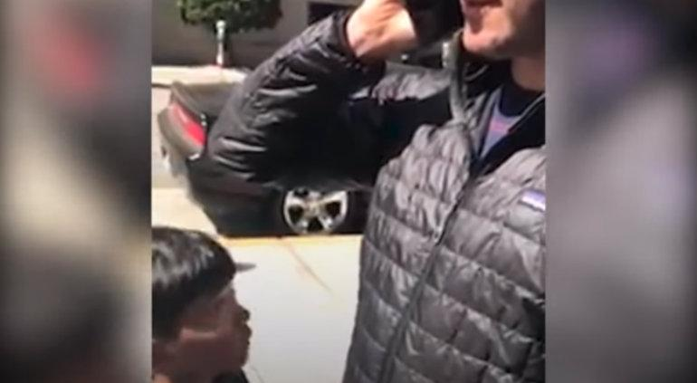 Ruega niño a su papá que no denuncie a afroamericano