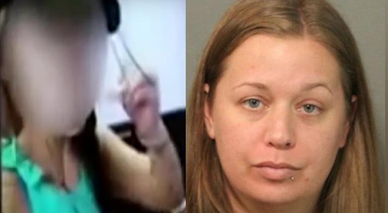 Obligó a su hija a lamer un bajalenguas, compartió el video y la condenaron a prisión