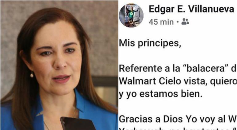 Líder panista se burla de la masacre en Walmart