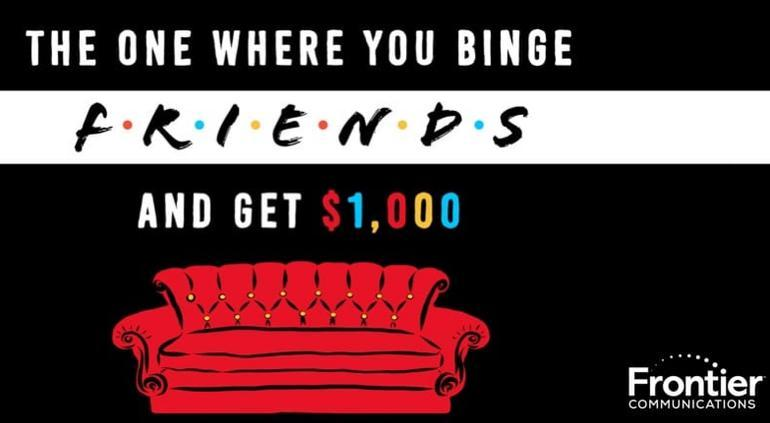 ?Te encanta Friends? Podrias ganar dinero por verla