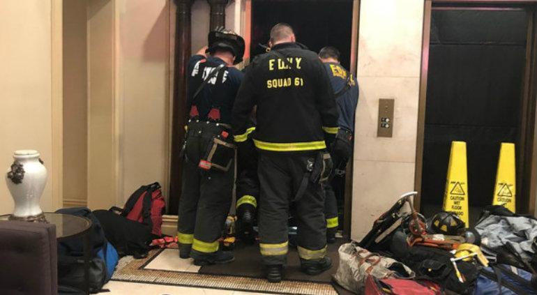 Un joven muere aplastado por un elevador en Nueva York