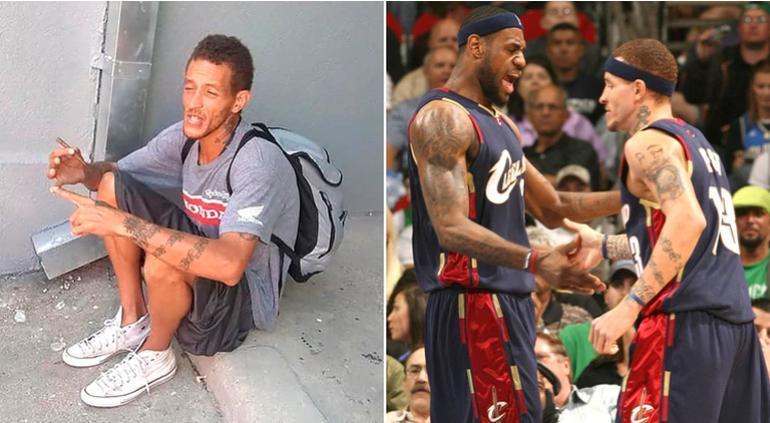 De jugar con LeBron James a vivir en la calle — Delonte West