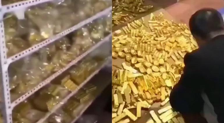 Hallan lingotes de oro en casa de político chino acusado de corrupción