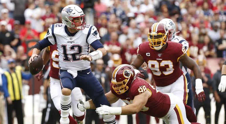 Patriotas dan paliza a Pieles Rojas en la NFL