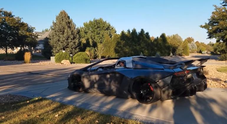 Un hombre imprime un Lamborghini en 3D para su hijo ¡Y corre!