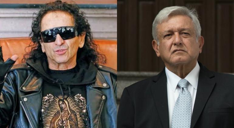 Alex Lora manda polémico saludo a López Obrador