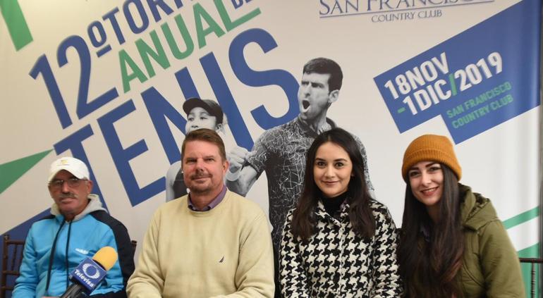 Anuncian el XII Torneo Anual de Tenis en San Francisco Country Club - El Tiempo de México