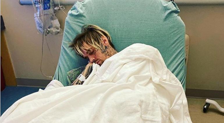Internan de urgencia a Aaron Carter en un hospital de Florida