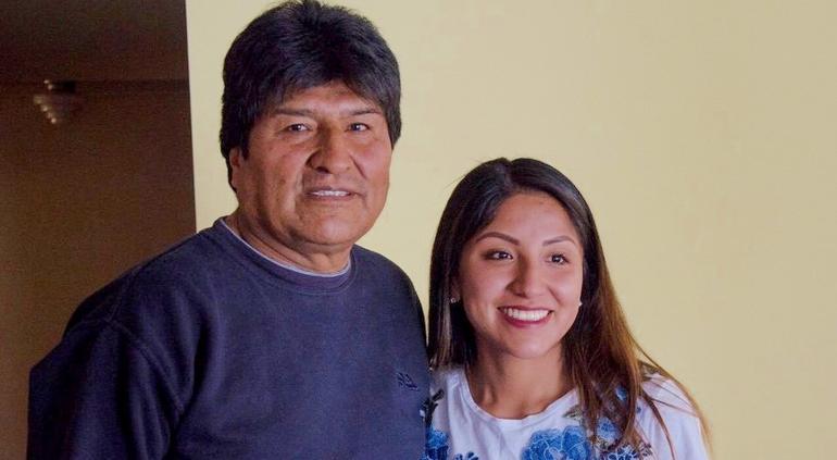 Los hijos de Evo Morales abandonaron Bolivia y vienen a la Argentina