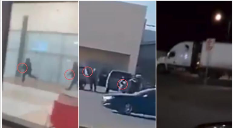 Reportan balaceras y bloqueos en calles de Nuevo Laredo