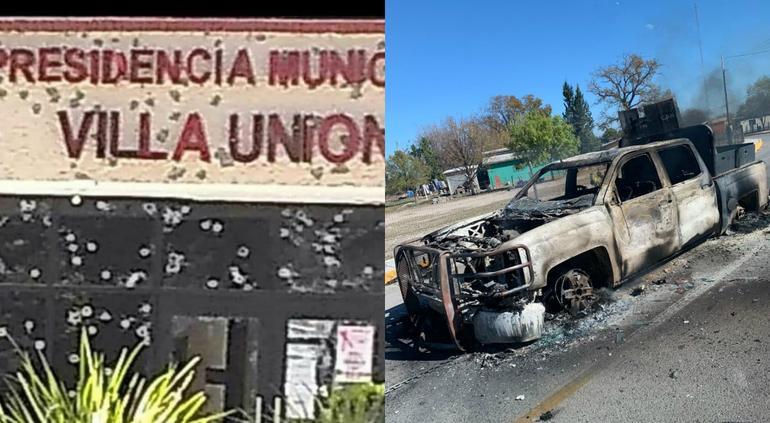 Narcos secuestran a dos estadounidenses en balacera de Coahuila