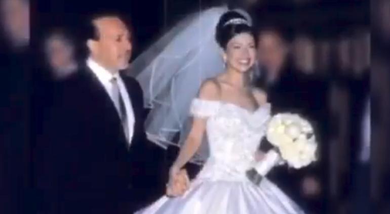 Celebra Thalía 19 años de matrimonio con Tommy Mottola