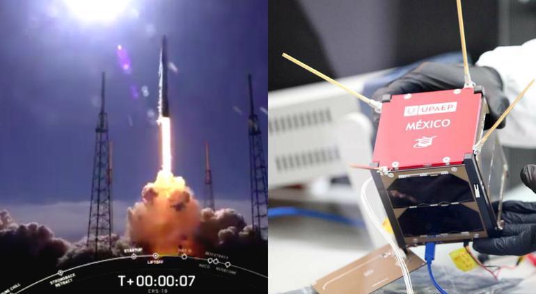 Envían nanosatélite mexicano al espacio