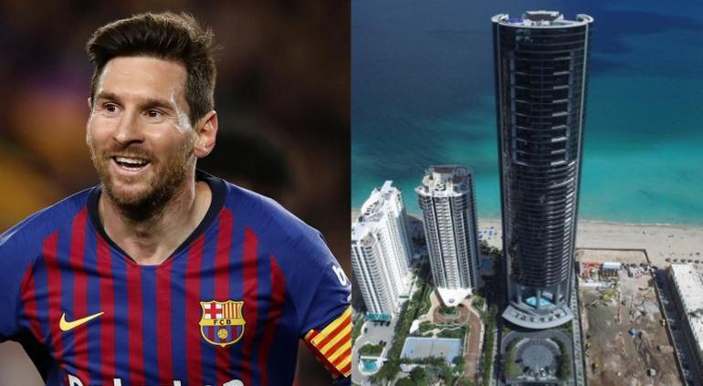 Messi celebró el Balón de Oro: nuevo departamento... ¡con ascensor para autos!