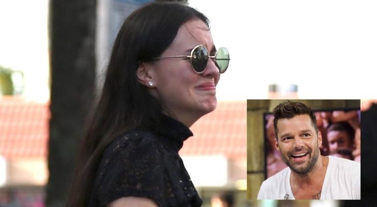Ricky Martin corre a Sarita Sosa de su fiesta, ¡por colada!