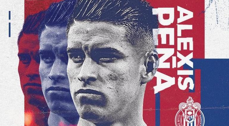 OFICIAL. Alexis Peña es nuevo jugador de Chivas