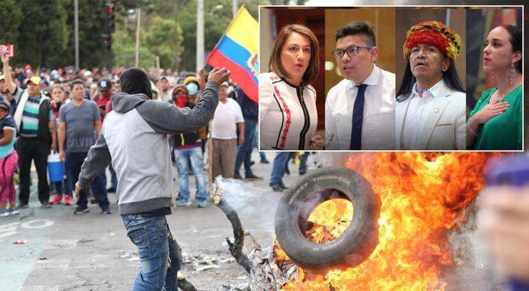 México concedió asilo a cuatro diputados opositores de Ecuador