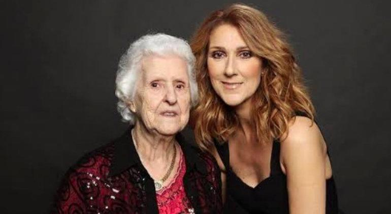 Fallece madre de Céline Dion