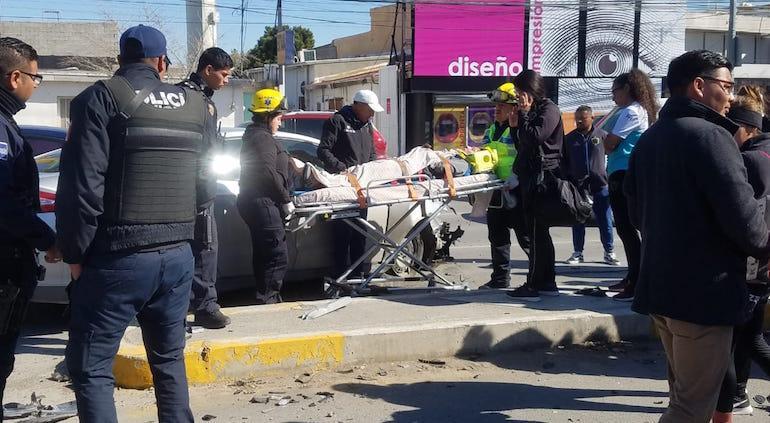 Seis jugadoras del equipo Femenil de Juárez sufre accidente en carretera