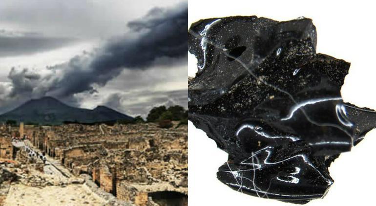 Encuentran un cerebro vitrificado por la erupción del Vesubio