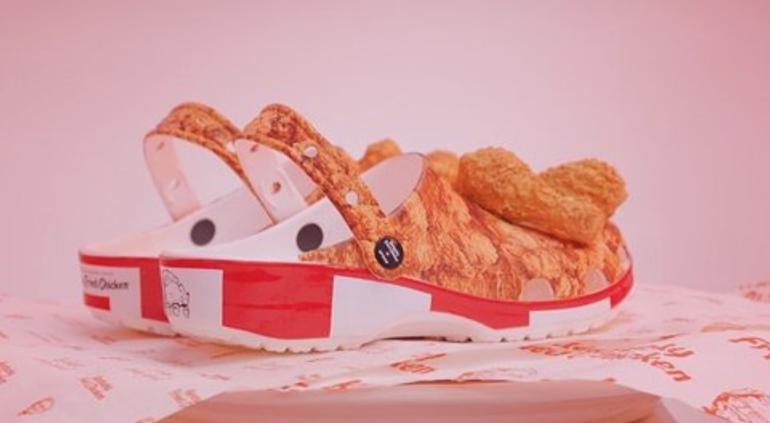 KFC lanza Crocs homenajeando al pollo frito